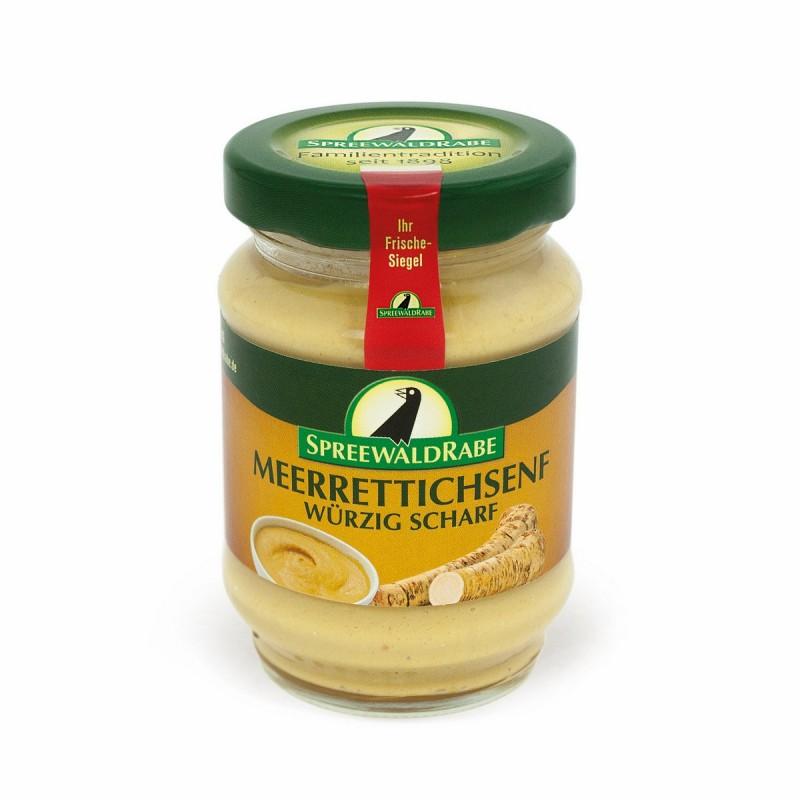Meerrettich-Senf von Spreewaldrabe