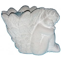 Keramik Engel Teelichthalter