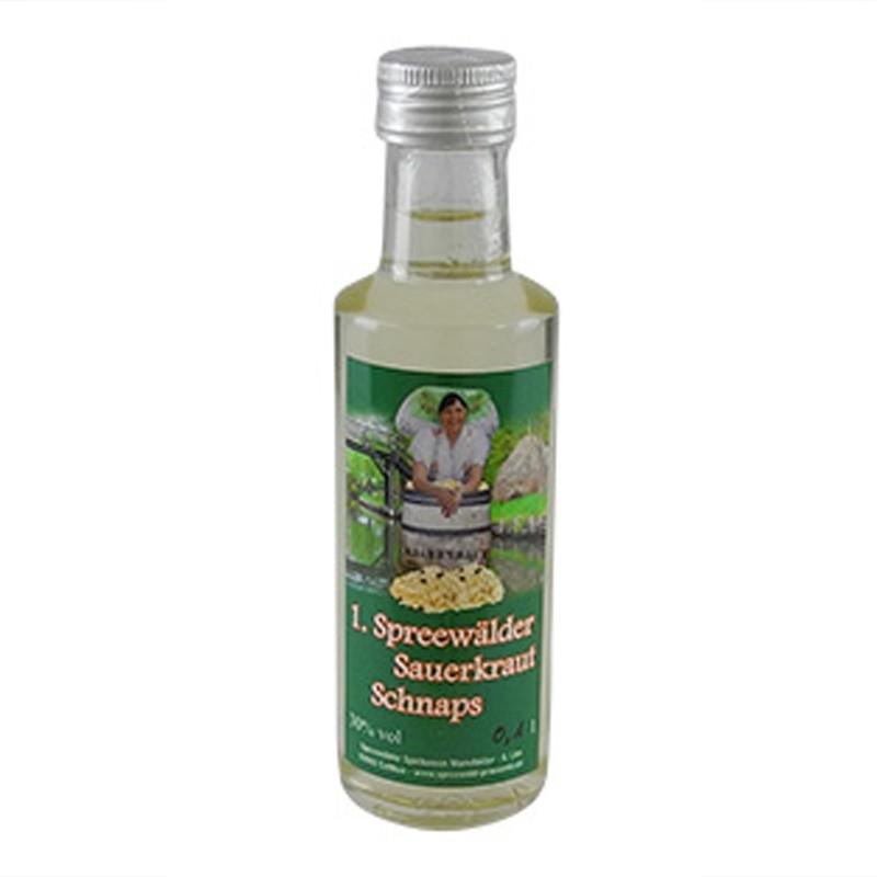 1. Spreewälder Sauerkraut Schnaps (0,1 l / 30% vol.)